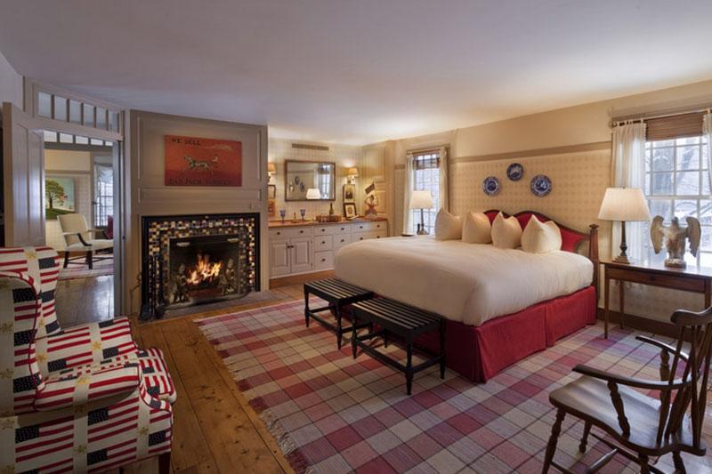 Twin Farms Bedroom